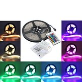3X 5M 5050 RGB Wodoodporny 300 LED Strip Light 24 Key Controller DC12V