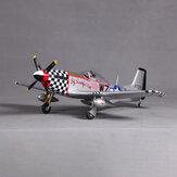 FMS P-51 Mustang V2 nagy gyönyörű baba 800 mm-es szárnyfesztávolságú EPO RC repülőgép PNP