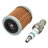 Spark Plug Fuel Filter For Yamaha Big Bear 350 Warrior Raptor 1989-2013