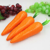 Gefälschte Fruit Modell Red Künstliche Carrot Kitchen Cabinet Decor Learning Fotografie Props