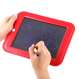 LIUMY  3D Drawing Board Educational Fluorescent Developing Toys Luminous Light Up Drawing Kit Card Board with Light Fun and Pen for Children Kids Doodle Art Write