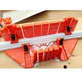 Gabinetes de serra de esquadria Multifuncional para marcenaria Fixação de serra de esquadria Caixa Ferramentas de corte de ângulo oblíquo de gesso para madeira
