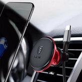 Baseus Cable Clip Magnetic Rotation Car Air Vent Uchwyt na telefon Samsung S8 iPhone X