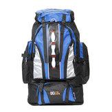 90L Waterproof Outdoor Sport Hiking Camping Rucksack Bag Luggage Travel Backpack