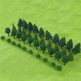 40PCS شجرة نموذج DIY بناء طاولة الرمل المشهد نموذجling مواد