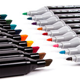 TouchcooL MM02 Markers Pen Set 30/40/60/80 Color Animation Sketch Marker Dual Head Drawing Art Brush Pens