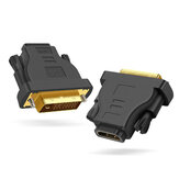 DVI 24 + 1 naar HDMI man-vrouw adapter