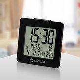 Digoo DG-C2 Horloge Thermomètre Bureau Familial Confort Intérieur Digital Blue Rétroéclairé LCD Réveil 3 Modes de Réglage d'alarme