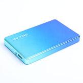 BUKING USB3.0 Externe Harde Schijf Ontwerp met Geleidelijke Kleur Mobiele Harde Schijf 500G 1TB 2TB voor Laptop Desktop PC TV Game Console