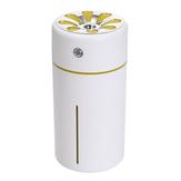 Máy tạo độ ẩm cầm tay mini CZW-18 360ML 3 trong 1 USB Máy tạo độ ẩm sương mù Máy tính để bàn văn phòng Máy lọc không khí chống ồn Máy lọc không khí với quạt USB và đèn LED cho phòng ngủ văn phòng