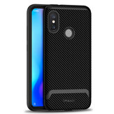 IPAKY Shockproof Hard PC + Soft TPU Back Cover Protective Case for Xiaomi Redmi 6 Pro Mi A2 Lite
