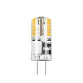 10 قطع ac / dc12v 3 واط G4 SMD3014 أبيض نقي لا وميض 48 LED الذرة لمبة الثريا ضوء