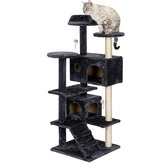 Kedi Ağaç Kule Condo Kittens Pet Bed için Mobilya Scratch Post