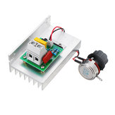 AC 220V 10000W Digital Control SCR Electronic Voltage Regulator Speed Control Dimmer Thermostat