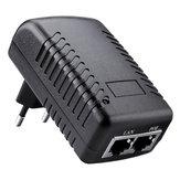 Adaptateur secteur de commutateur muraux de prise murale POE d'injecteur DC12V 1A 12W de prise UE de prise Ethernet
