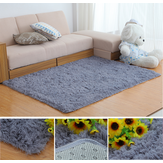 80x160cm Bedroom Living Room Soft Shaggy Anti Slip Carpet Absorbent Mat