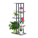 5 niveaux fer artisanat plante fleur stand bougeoir étagère pot de fleur étagère jardin support maison bureau décor