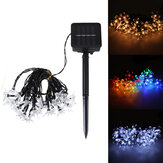 30 LED Solar Powered Fairy String Flower Lights In/Outdoor Garden Birthday Party