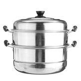3 уровня из нержавеющей стали горшок пароварка пароварка плита посуда горячий горшок кулинария кухня Набор