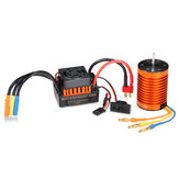 Surpass Hobby Waterproof F540 3000KV Brushless Motor +45A ESC For 1/10 Rc Car Parts