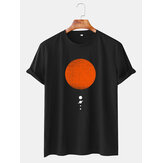 Mens Sun & Planet Graphic Printed Daily Casual Camisetas de manga curta