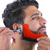 Nowe grzebieniowe narzędzie do modelowania brody Sex Man Gentleman Beard Trimmer