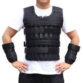 3/15/35kg Adjustable Running Weighted Vest Strength Training Sport Fitness Running Tank Tops