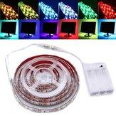 30/50/100/150 / 200cm dimmable rgb 5050 LED luz de la tira usb tv iluminación de fondo dc5v