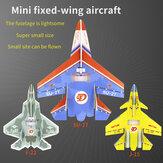 Mini SU27/J-15/F-22 Aircraft 300mm Wingspan Micro Warplane RC Airplane KIT/PNP