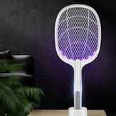 3000 В электрический убийца комаров с UV Лампа USB 1200 мАч перезаряжаемый Bug Zapper Летняя мухобойка домашняя ракетка для насекомых