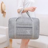 Waterproof folding large capacity portable travel bag for men and women Travel short-distance travel bag shoulder bag trolley bag