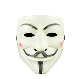 V for Vendetta Guy Mask Resin Anonymous Guy Fawkes Halloween Mask Halloween Party Cosplay Hacker Mask