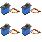 4X MG92B Robot 13.8g 3.5KG Torque Metal Gear Digital Servo