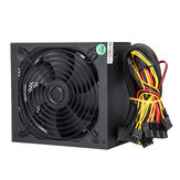 1000W PC Computer Power Supply Quiet 140mm Green LED Fan 24Pin SATA 6Pin 8Pin