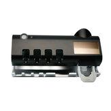 UV Işık Diş Fırçası Sterilizatör Diş Fırçası Temizleyici Duvara Monte Otomatik Diş Macunu Dispenser + Manyetik Vantuz