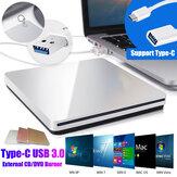 Slim USB External CD Burner Reader Player CD / DVD Player Οπτική μονάδα δίσκου για φορητό υπολογιστή PC