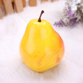 Artificial Pear Mould Fake Fruit Plastic Fruits Home Decorating Mold Learning Props