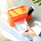 ZHIZAO Tissue Box Container Integrated Multifunctional Storage Rack Paper Holder from Xiaomi Youpin