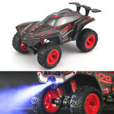 HR 1/12 2.4G 4CH Crawler Off Road RC Car Vehicle Models W/ Spay Light Toy