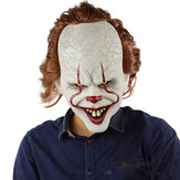 Scary Clown Mask Pennywise Cosplay Halloween Latex Creepy Joker Stephen Masks Party Supplies For Adults