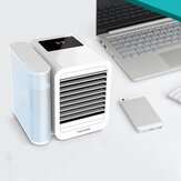 [Upgrade Version]Microhoo 3 in 1 Desktop Air Conditioner from Xiaomi Eco-system Cooling Fan Humidification Purification 7 Colors Light Stepless Brightness Adjustment