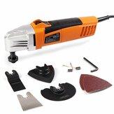 HILDA 110V / 230V 260W 11000-22000rpm Trimming Machine Oscillerende Multi Saw Oscillating Tools