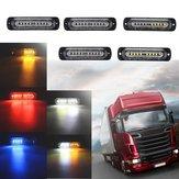 12V-24V10LEDCocheLucesde posición laterales Indicador de señal Strobe Lámpara Universal para remolque de camión
