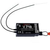 SpektrumストームG152 DSMX DSM2 RCドローンFPVレーシングマルチローター用V710 2.4G 7CH受信機