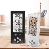 DigooDG-TH1177NumériqueTransparentÉcranTransparent Intérieur Numérique Hygromètre Thermomètre Thermomètre Capteur Alarme Horloge