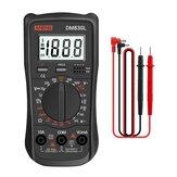 ANENG DM830L Multímetro Digital Medidor Testadores 1.999 Contagem Elétrica Transistor Capacitância DC / AC Multímetro com luz de fundo LCD