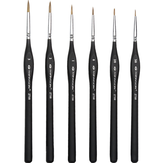 6 PCS Hook Line Pen Set Painting Brush Watercolor Paintings Drawing Pens Brushes Oil Acrylic