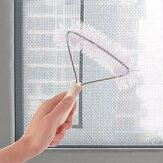 Multifunction Galvanized Wire Removal Window Screen Cleaning Brush Tool Glass Cleaning Scrubber