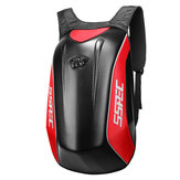 Helm sepeda motor Ransel Motocross Kuda Racing Storage Bag Carbon Fiber