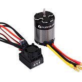 Flycolor 3650 3000KV Бесколлекторный Водонепроницаемы Sensorless Мотор + 45A Комбинированный комплект ESC для 1/10 Rc Авто частей